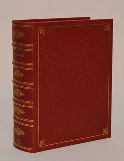 Rounded Spine Clamshell Box Bible