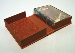 Dune Leather Rounded Spine Book Box