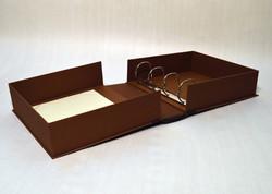 Custom Clamshell Box Binder