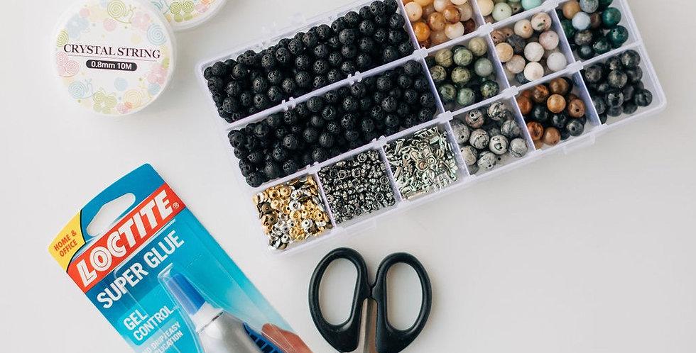 20 Pack - Earthtone DIY Bracelet Pack