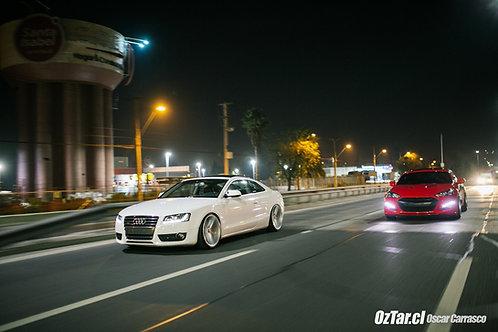 Poster Audi A5 - Hyundai Genesis 3.8
