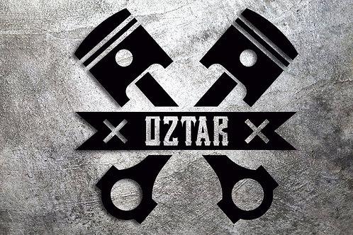 Sticker OzTar Piston