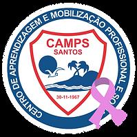 logo camps outubro rosa fundo transparen