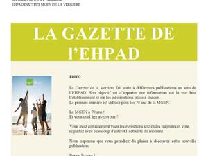 La Gazette de La Verrière (78) ; présentation des bénévoles VMEH 78