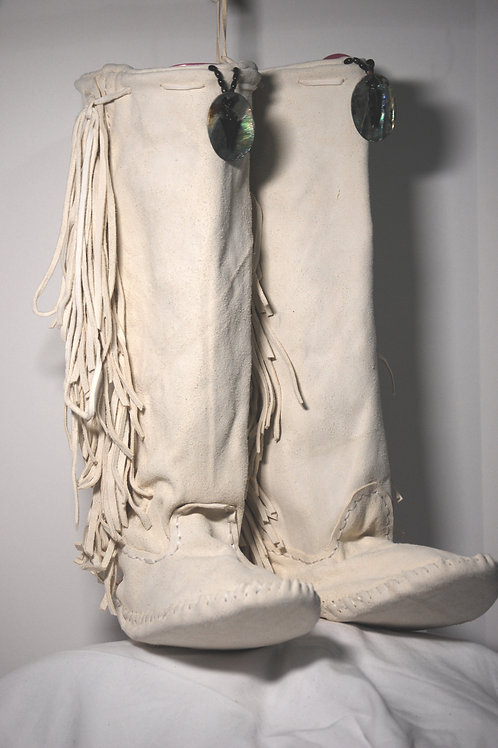 Moccasins Knee High 04