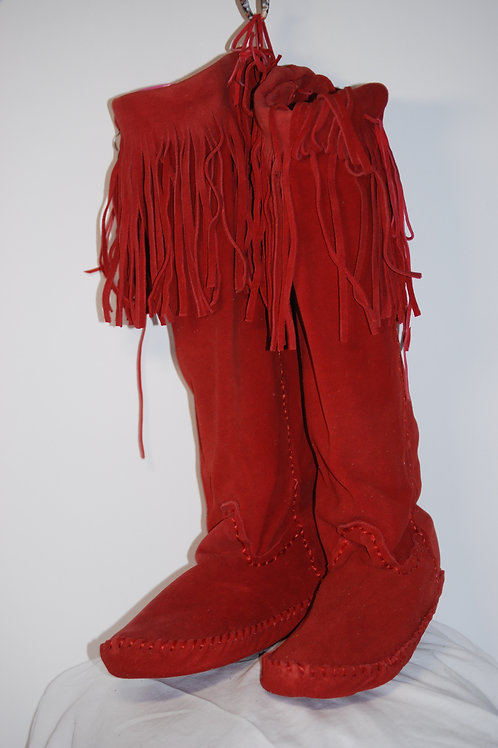 Moccasins Knee High 09