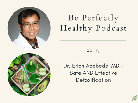 Erich Acebedo, MD - Safe AND Effective Detoxification