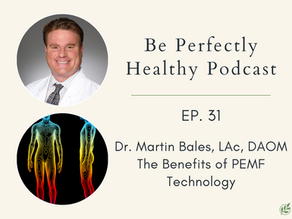 Dr. Martin Bales, LAc, DAOM - The Benefits of PEMF Technology