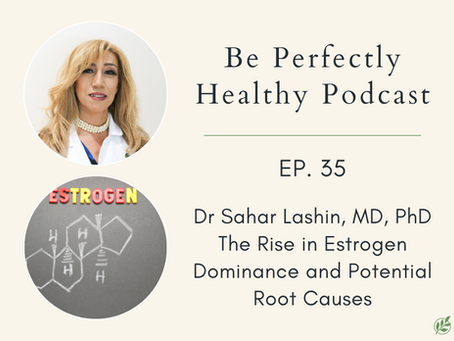 Dr. Sahar Lashin, MD, Ph.D. - The Rise in Estrogen Dominance and Potential Root Causes