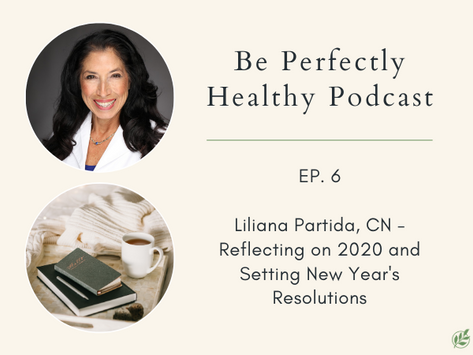 Liliana Partida, CN - Reflecting on 2020 and Setting New Year's Intentions