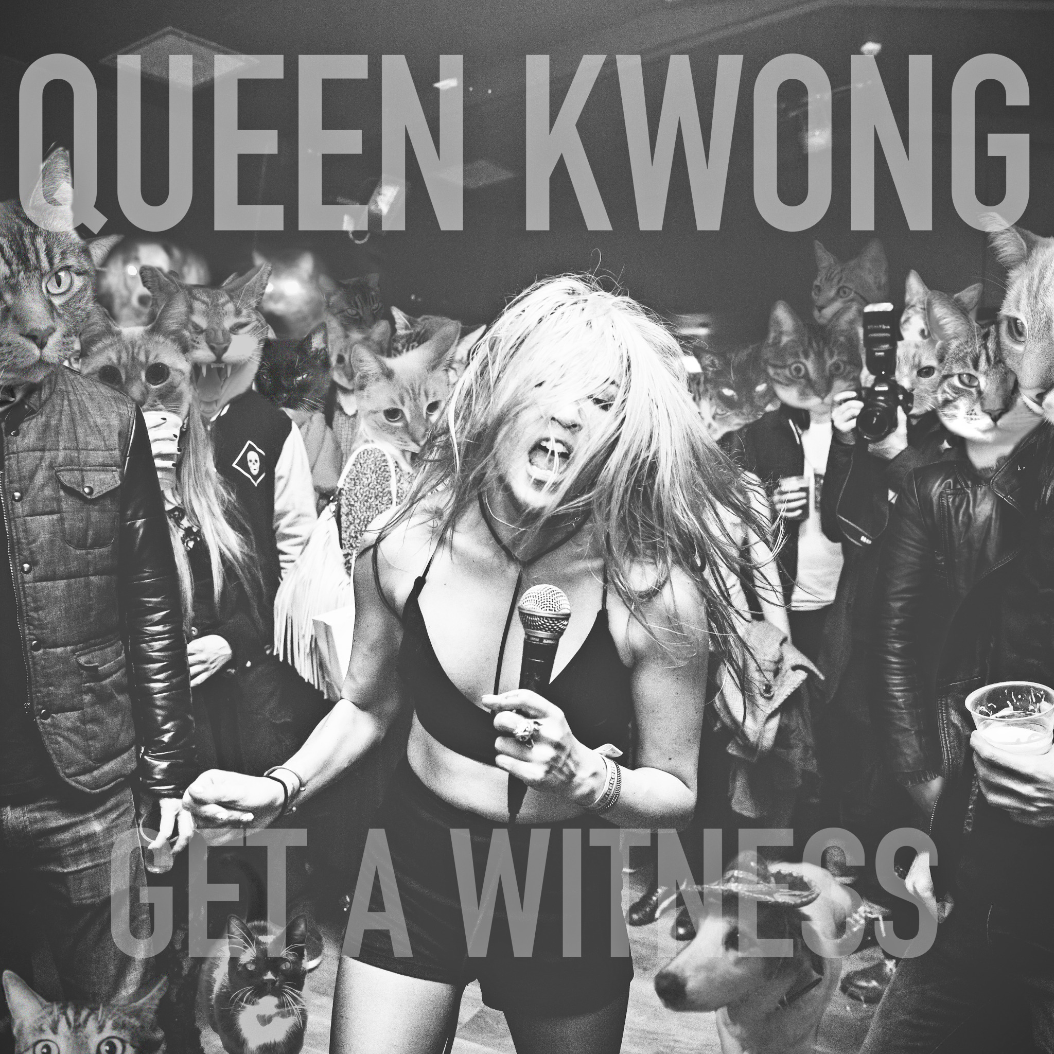 QUEEN KWONG, GET A WITNESS LP
