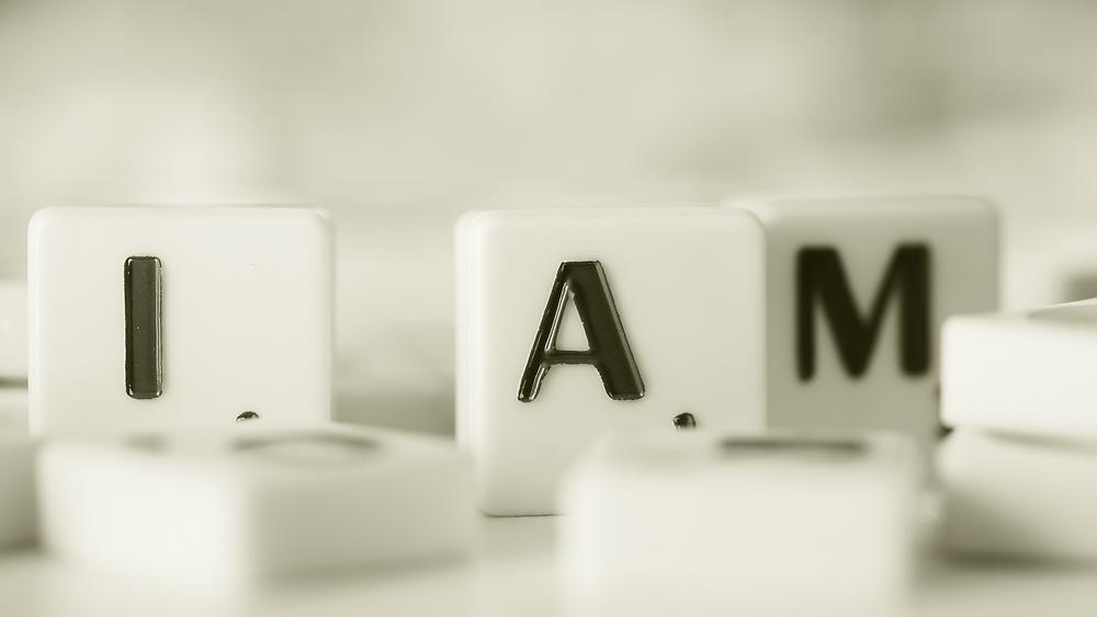 2 simple mindfulness techniques - I am Scrabble blocks