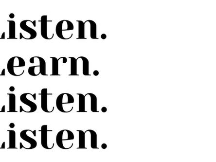 Listen. Learn.