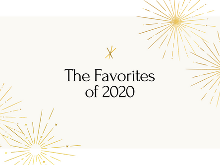 Favorites of 2020