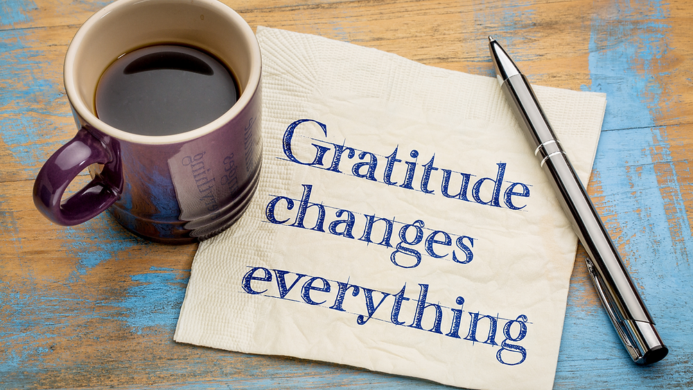 how gratitude can reframe your mindset