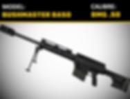 BUSHMASTER BA50 .50 BMG Gun