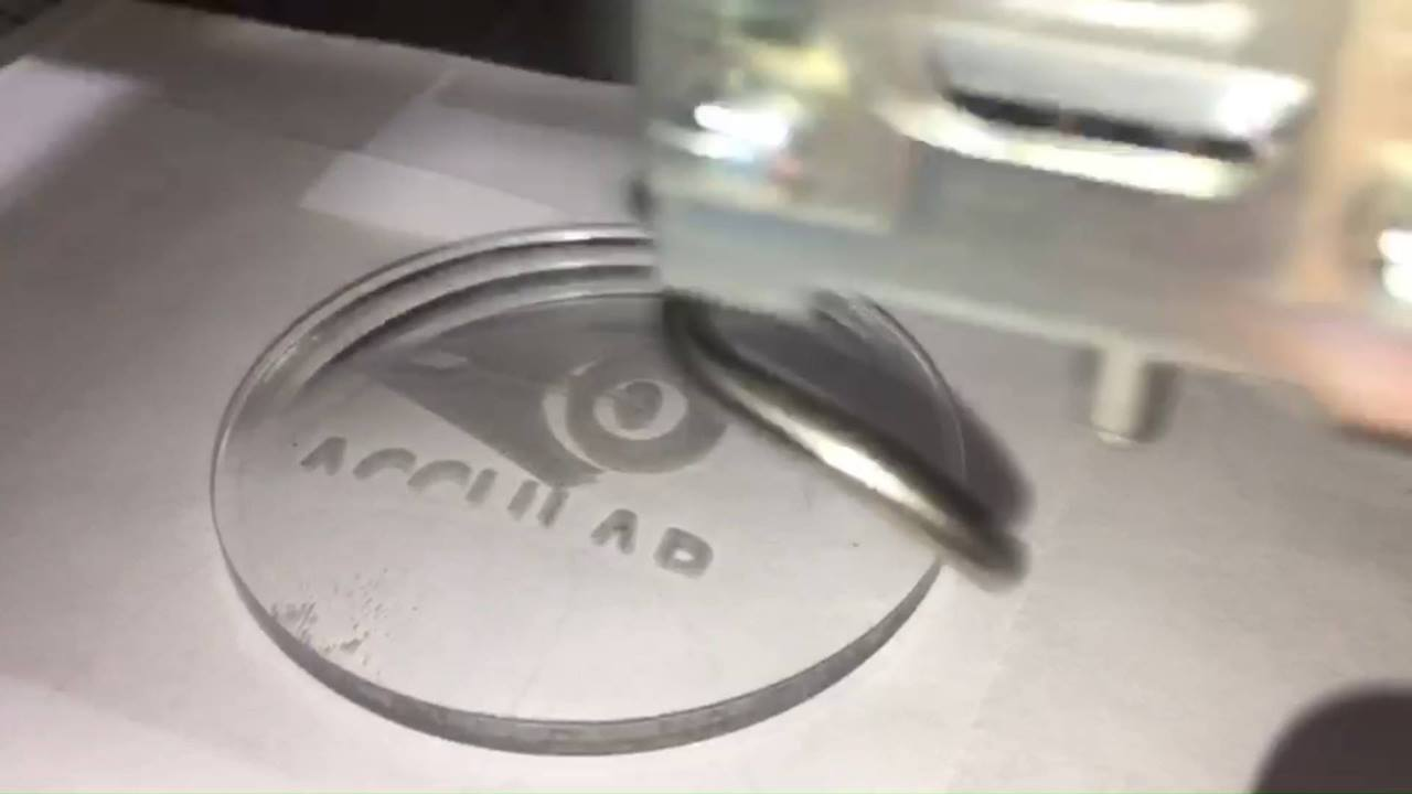 Laser Engraving (8x sped up)