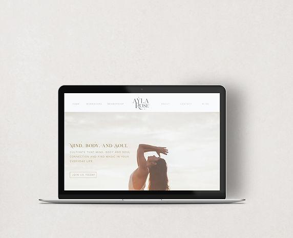 Ayla Rose Landing Page
