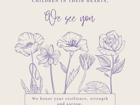International Bereaved Mother's Day Event