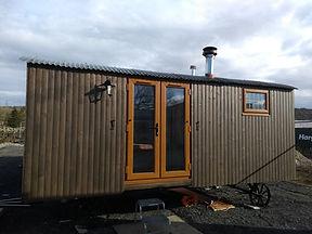 Glamping accommodation