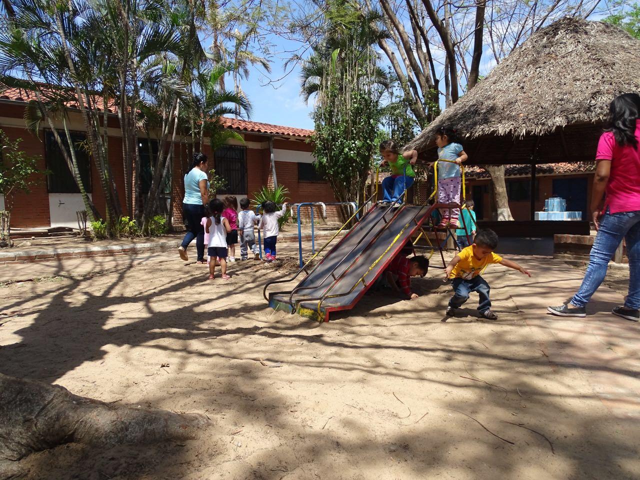 The new playground