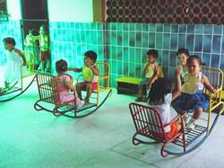 Spielgeräte für die Kleinen
