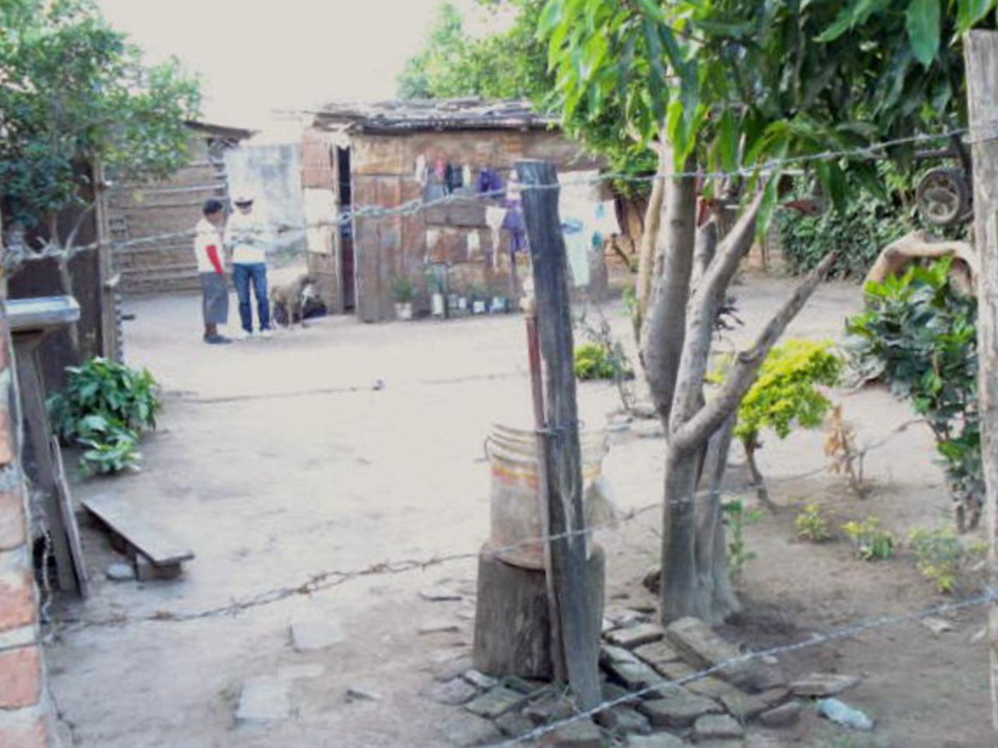 das Armenviertel von Santa Cruz