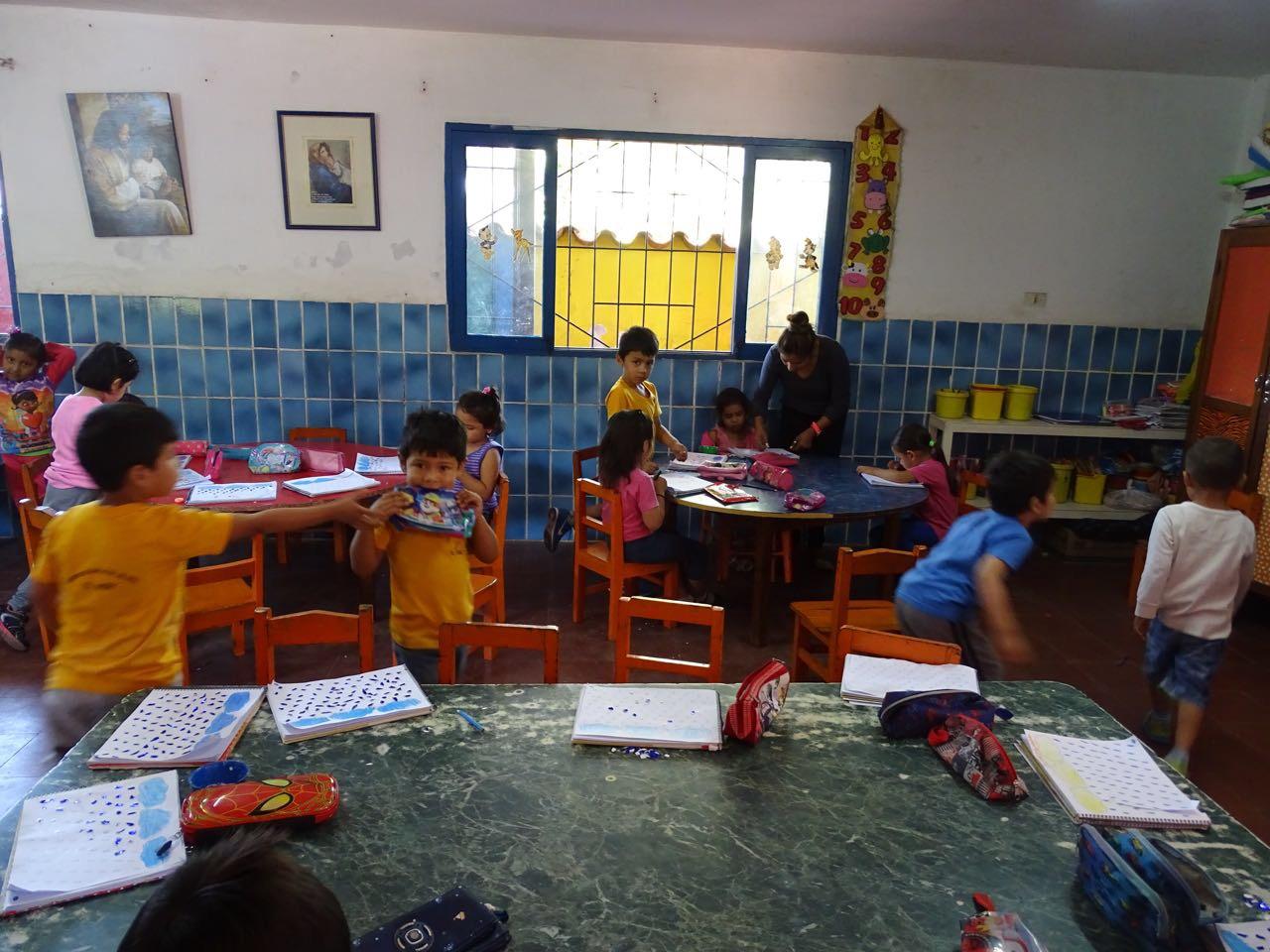 Klassenraum der Vorschule