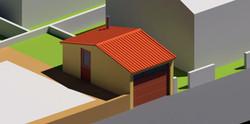 Edificación auxiliar a vivienda
