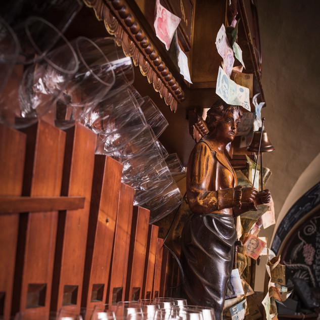 Die Weinorgel.