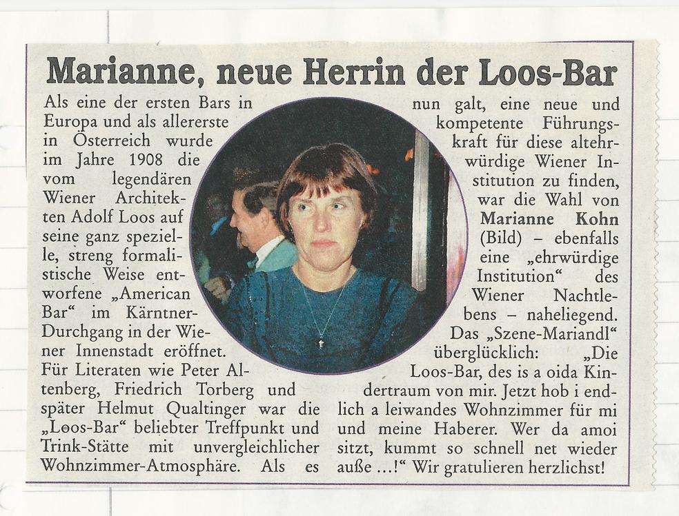 Marianne Kohn