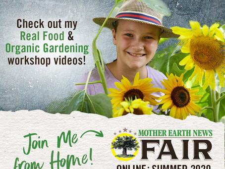 MOTHER EARTH NEWS FAIR ONLINE: SUMMER 2020