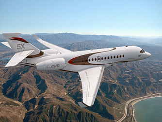 FALCON 5X, THE NEW SUPER MIDSIZE JET FROM DASSAULT
