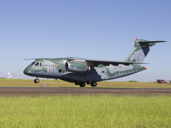 EMBRAER KC-390 DEBUTING AT FARNBOROUGH INTERNATIONAL AIRSHOW WITH 450,000 HOURS OF ENGINEERING BY CE