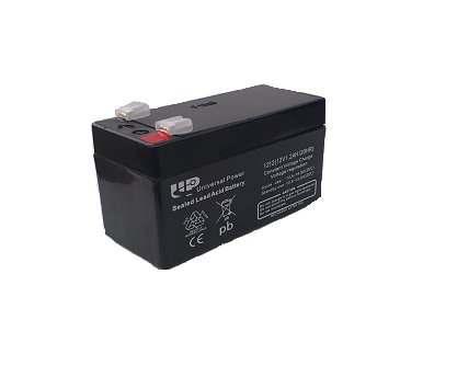 BAT-GB12V-1.2AH 12 Volt 1.2amp Battery Black