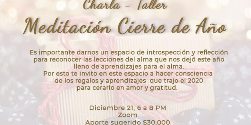 Charla Taller: Meditación cierre de año