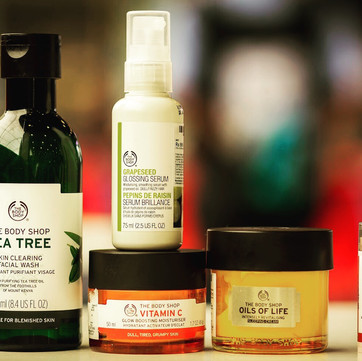 Five Best Body Shop Products