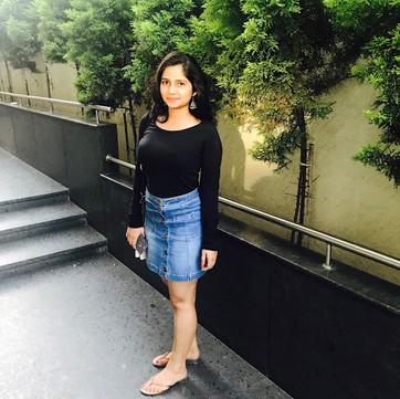 Crop Top & High Waist Skirt