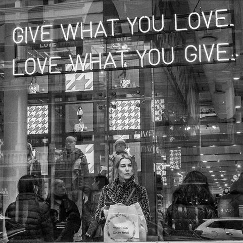 Dar lo que se ama