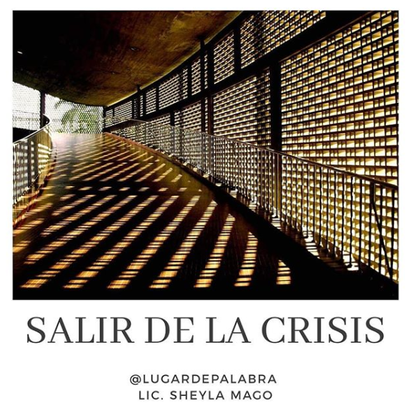 Salir de la crisis