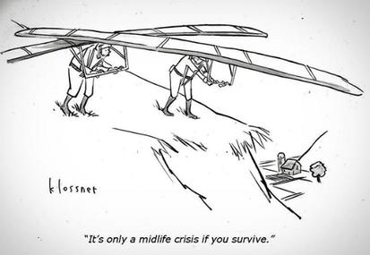 Con edad para la crisis de la mediana edad