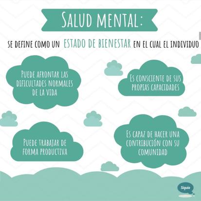 Salud Mental ¿Cómo saberlo?