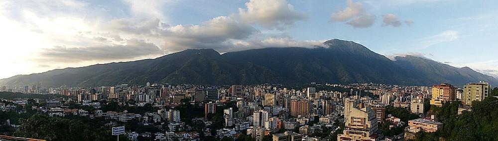 Montaña en Caracas