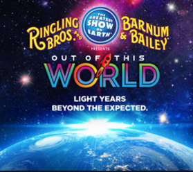"Vocals for Ringling Bros show ""Out Of This World"""