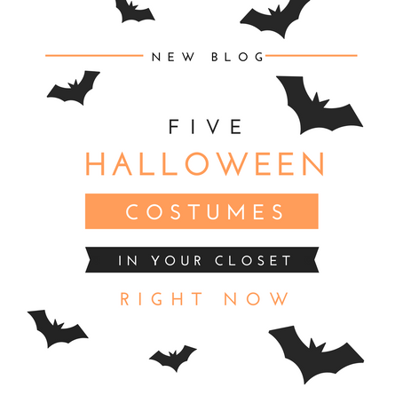 5 Halloween Costumes in Your Closet Right Now