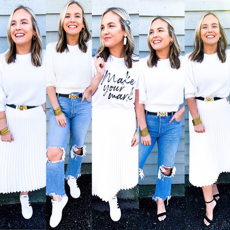 How to Style One Outfit 5 Different Ways