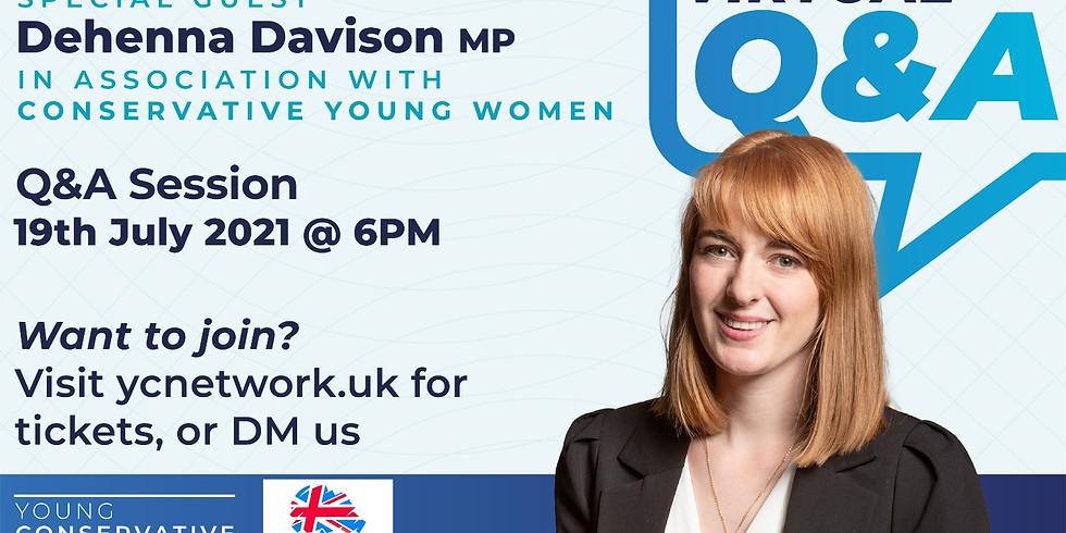 Q&A with Dehenna Davison MP