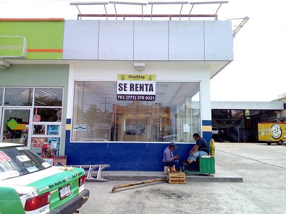 LOCAL EN RENTA HUEJUTLA