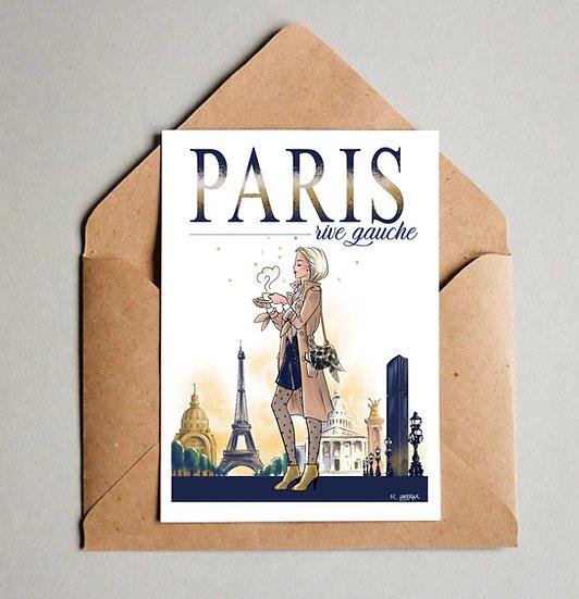 Carte de Paris Rive Gauche