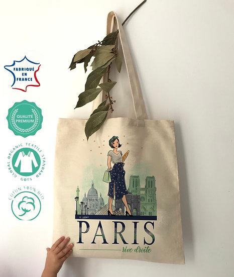 Paris Rive Droite, le Tote-bag